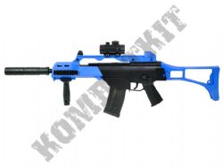 CM021 G36 Style Electric Auto Airsoft Machine Gun Black and Blue